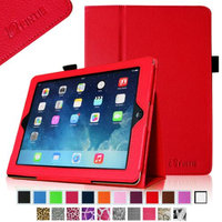 Fintie Folio Case Slim Fit Leather Smart Cover with Auto Sleep / Wake Feature for iPad Air 5 (5th Generation)