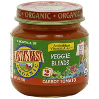 Earth's Best Organic 2nd Antioxidant Blend Carrot Tomato, 4 Ounce Jars (Pack of 12)