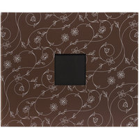 American Crafts Patterned D-Ring 12x12 Scrapbook Album - Chestnut Vines