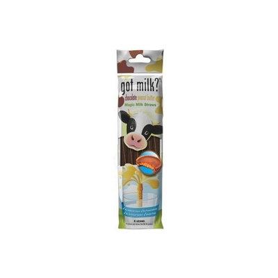 Got Milk Chocolate Peanut Butter Magic Milk Straws- 6 pk