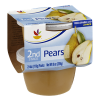 Ahold 2nd Stage Baby Food Pears - 2 CT