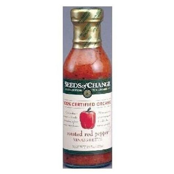 Seeds of Change Vinaigrette, Rst Red Pepper, 13-Ounce (Pack of 12)