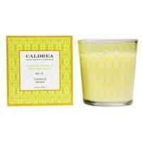 Caldrea Fragranced Candle, No 15 Ginger Pomelo, 8.1 oz