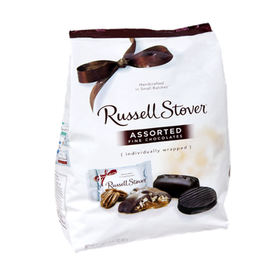 Russell Stover Assorted Fine Chocolates Individually Wrapped
