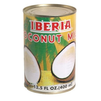 Iberia Coconut Milk, 13.5-Ounce (Pack of 8)