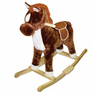 Charm Company Brown Pinto Rocking Horse Ages 2+, 1 ea