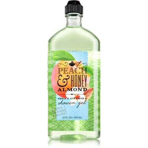 Bath & Body Works Peach & Honey Almond Shower Gel 10 Oz