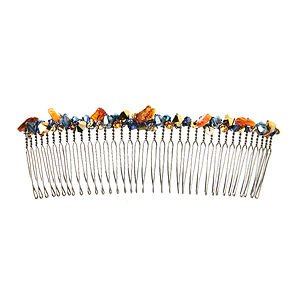 Colette Malouf Jeweled Crystal Large Wire Comb