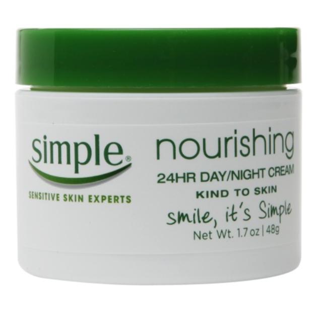 Simple Nourishing 24-hour Facial Cream - 1.7 oz