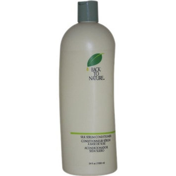 Silk Serum Conditioner By Back To Nature for Unisex, 34 Ounce