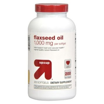 up & up up&up Flaxseed Oil 1000 mg Softgels - 200 Count