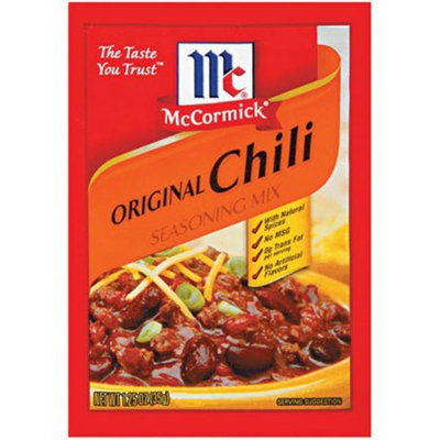 McCormick Original Chili Seasoning Mix 1.25-oz.