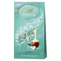 Lindt & Sprungli Lindt Lindor Coconut Milk Chocolate Truffles 6 oz