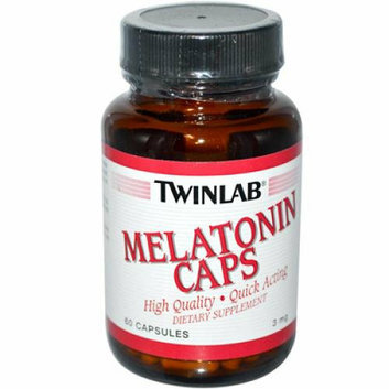 Twinlab Melatonin Caps 3 mg 60 Capsules