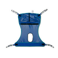 Chattanooga 19115 Large - 450 lbs. (204 kg) capacity Invacare Compatible Mesh Full Body Sling with Commode Opening
