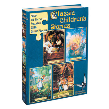 Blue Opal Classic Children's Stories Puzzle I - Goldilocks: 48 Pcs