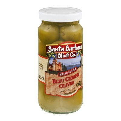 Santa Barbara Olive Co. Olives Hand Stuffed Blue Cheese