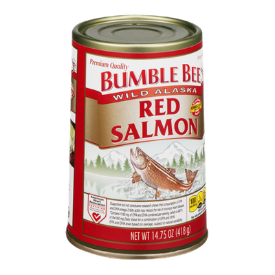 Bumble Bee Wild Alaska Red Salmon