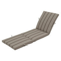 Threshold Outdoor Chaise Lounge Cushion - Taupe Stripe