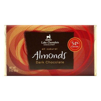 Lake Champlain Choc Choc Bar Drk Almnd 3 OZ -Pack Of 12