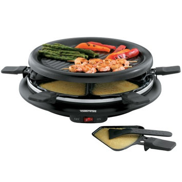 Toastess Intl/ Salton Toastess Non-Stick 6-Person 13 Mini Party Grill And Raclette With Spatulas