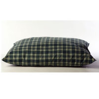 Boomer George Carolina Pet Co. Indoor / Outdoor Shebang Pet Bed, GREEN PLAID