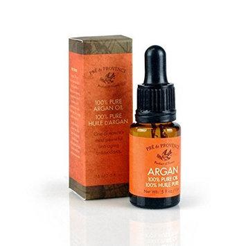 Pre De Provence Nature's Most Powerful Antioxidant, Argan Nourishing 100% Pure Argan Oil for Instant Radiance - .5 Ounce Bottle