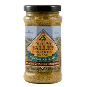 Napa Valley Mustard Whole Grained, 8.25-Ounce (Pack of 6)
