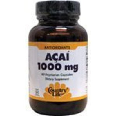Country Life Acai Capsules, 60-Count