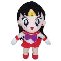 Plush Sailor Mars Sailor Moon anime plushie toy doll character ~8 inches tall GE Animation