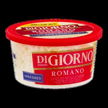 DiGiorno Shredded Romano Cheese