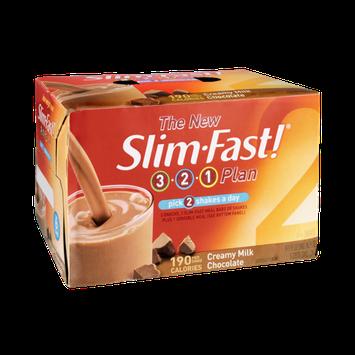 Slim Fast! 3-2-1 Plan Creamy Milk Chocolate Shakes