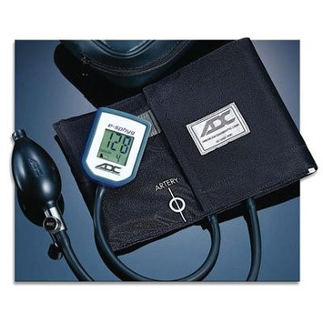 ADC E-SPHYG Digital Aneroid Sphygmomanometer, Small Adult, Black