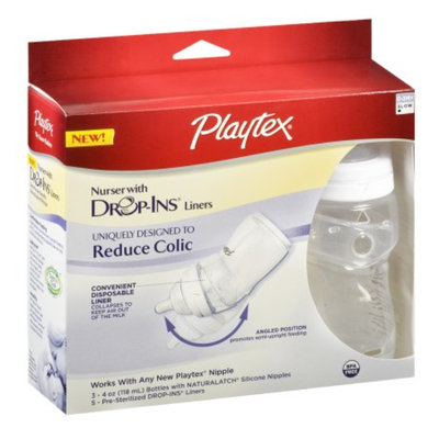 Playtex Nurser Starter 3-pk. - 4-oz.