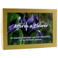 FLOWER ESSENCE SERVICES Set of FES Flower Cards-English 103 PC