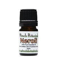 Miracle Botanicals Neroli Essential Oil - 100% Pure Citrus Aurantium Amara - Therapeutic Grade 5ml