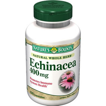 Nature's Bounty Echinacea 400mg