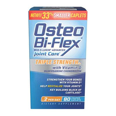 Osteo Bi-Flex Advanced Triple Strength Joint Shield Formula w/Vitamin D - 80 Ct