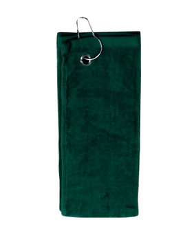 Pds Online Simplicity 100% Cotton Terry Sports Towel with Grommet and Hook