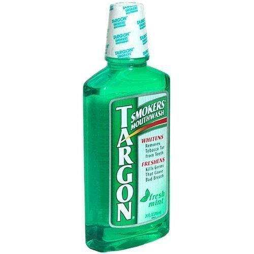 Targon Smokers' Mouthwash, Fresh Mint, 24-ounce Bottles (Pack of 3)
