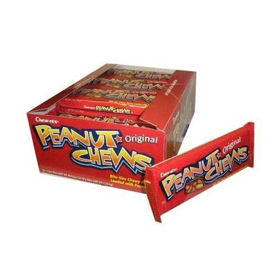 Goldenberg's Original Peanut Chews - 3.3 oz (18 pack)