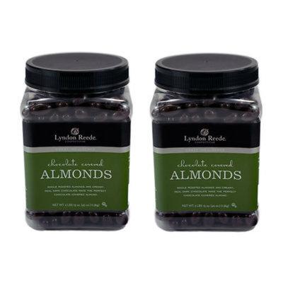 Lyndon Reede Dark Chocolate Almonds, 2.8 Lbs., 2-Pk