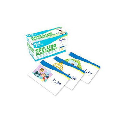 First Grade Spelling Flashcards by Sylvan Learning