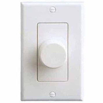 Legrand OnQ In-Wall Speaker Volume Control, White/Almond