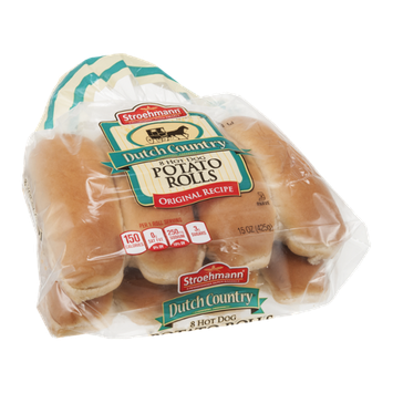 Stroehmann Dutch Country Hot Dog Potato Rolls - 8 CT