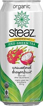 Steaz ICE TEA, OG2, GRN, UNSWT DRG, (Pack of 12)