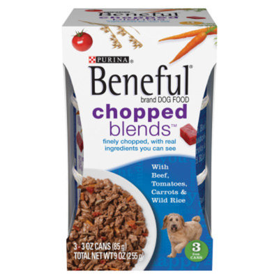 Beneful Chopped Blends™ With Beef Tomatoes Carrots And Wild Rice