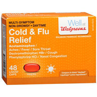 Walgreens Cold/Flu Relief Daytime Liquid Caps