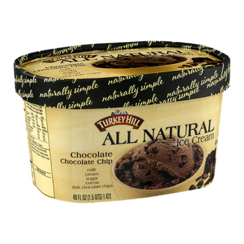 Turkey Hill All Natural Ice Cream Chocolate Chocolate Chip