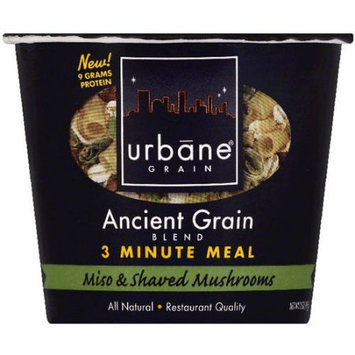 Urbane Grain Ancient Grain Blend Miso & Shaved Mushrooms 3 Minute Meal, 2 oz, (Pack of 6)